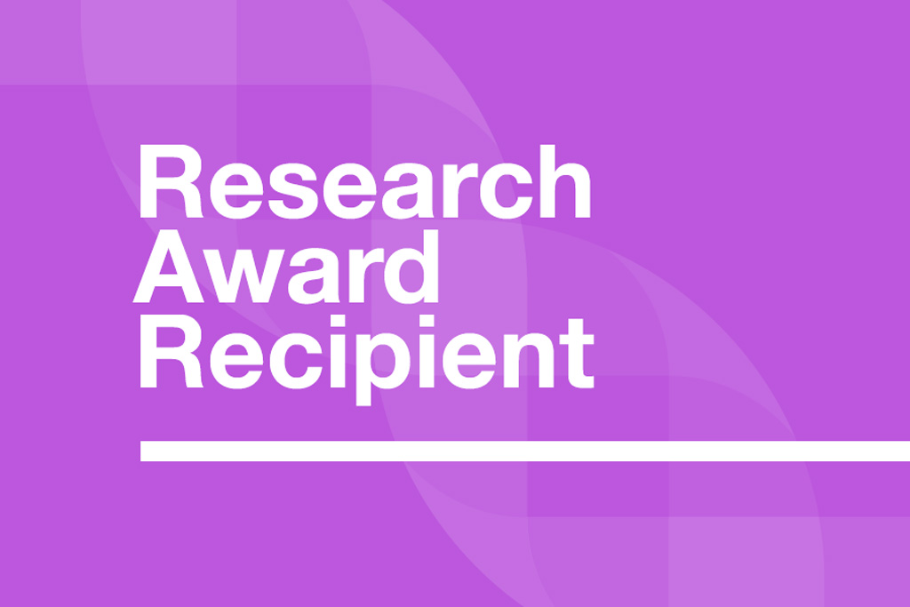 Dravet Canada - Research Award Recipient